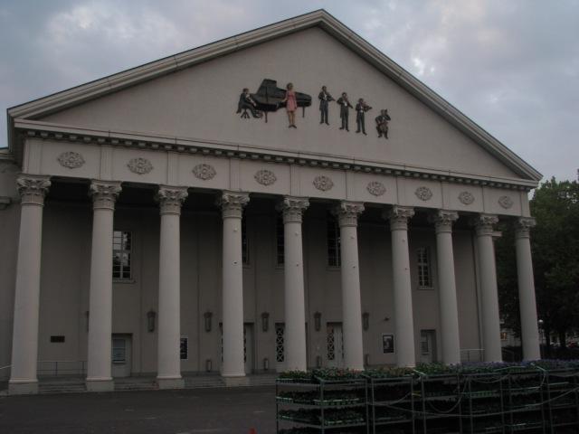 THe Opera House in Karlsruhe