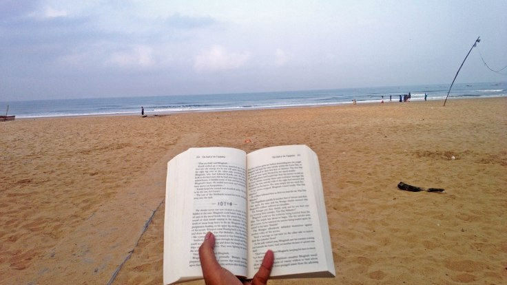 010 Reading in Peace (Baga, Goa, India)