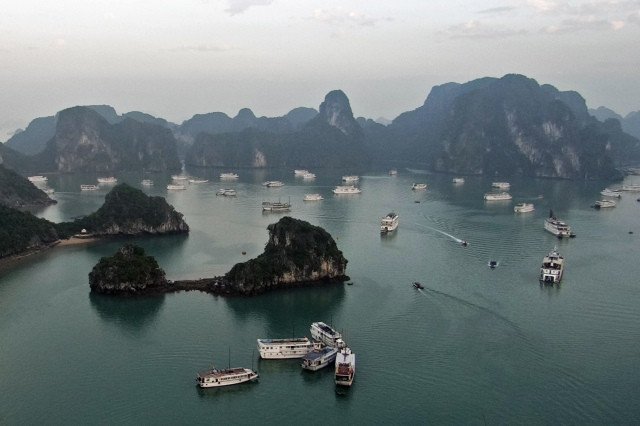 012 A View from the Top (Halong Bay, Vietnam)